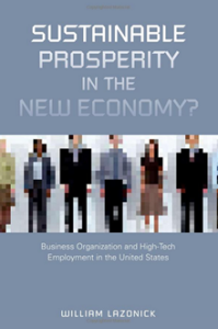 Sustainable prosperity in the new economy?